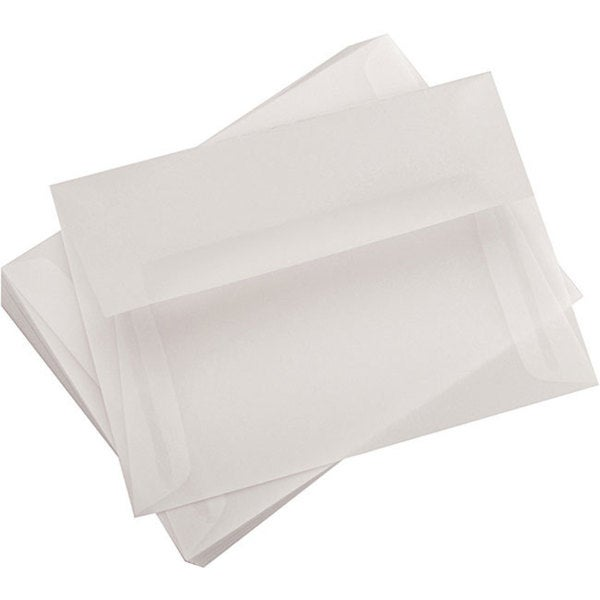 Leader Paper A6 Vellum 4.75x6.5 Envelopes (Pack of 25)