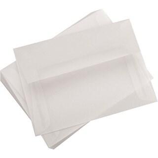 Leader Paper A6 Vellum 4.75x6.5 Envelopes (Pack of 25)