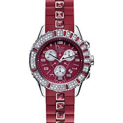 Christian Dior Christal Ruby Red Women's Watch|https://ak1.ostkcdn.com/images/products/3410735/Christian-Dior-Christal-Ruby-Red-Womens-Watch-P11492519.jpg?impolicy=medium