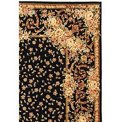 Safavieh Handmade Persian Court Multicolor Wool and Silk Rug (6' x 9') - Thumbnail 2
