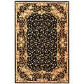 Safavieh Handmade Persian Court Multicolor Wool and Silk Rug - 6' x 9'