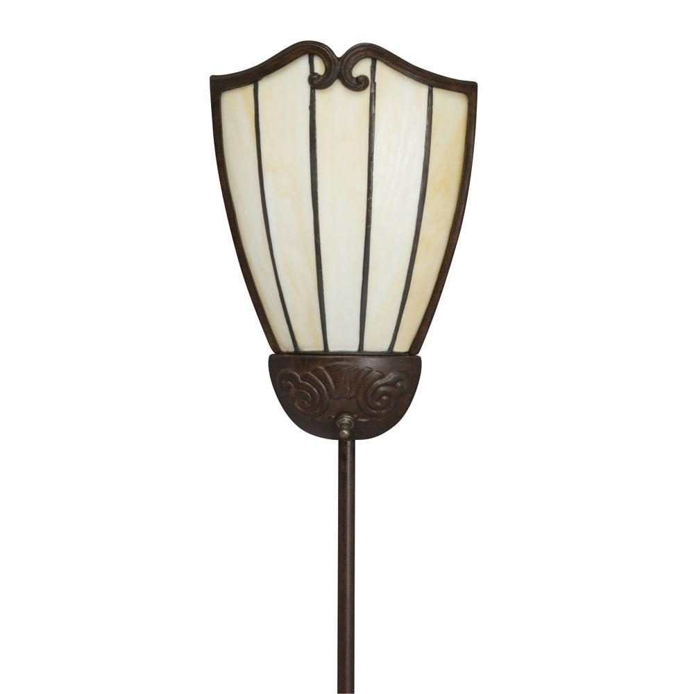 Shop Tiffany Style Pin Up Plug In Bronze Corner Lamp Shade
