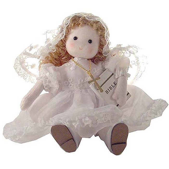 first communion mary collectible musical doll free