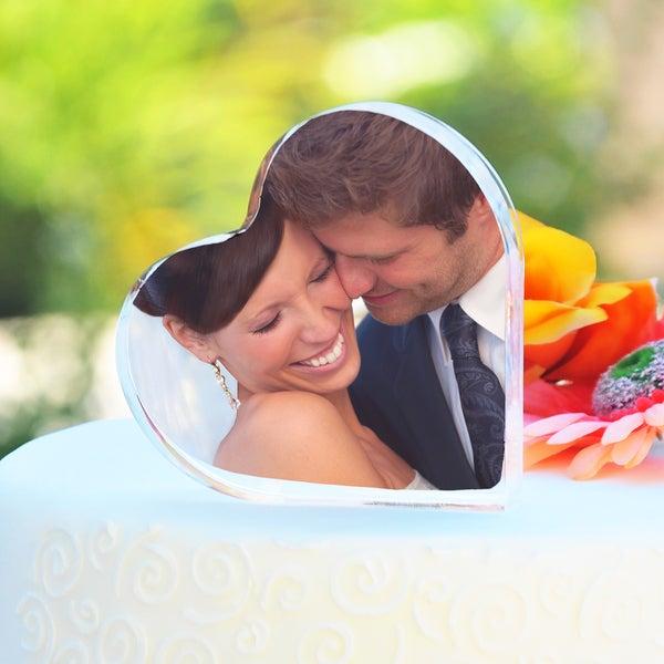 Photo Wedding Cake Topper