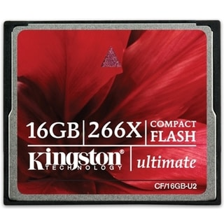 Kingston 16GB Ultimate CompactFlash Card - 266x