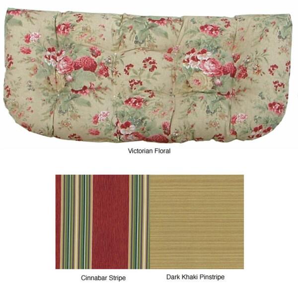 Double U Shaped Outdoor Loveseat Cushion