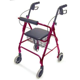 Mabis Healthcare Royal Blue Rollator Walker