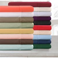 Superior Cotton 300 Thread Count Solid Pillowcase Set