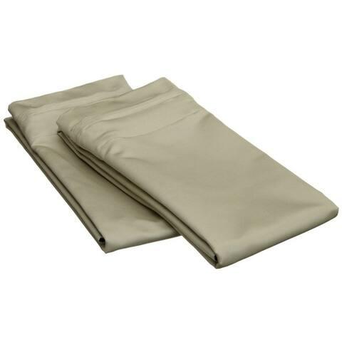 Miranda Haus Ledford Egyptian Cotton Solid Pillowcase Set