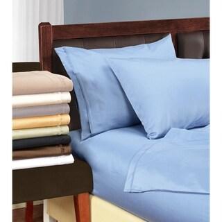 Superior Egyptian Cotton 1500 Thread Count Solid Pillowcase Set (Set of 2)