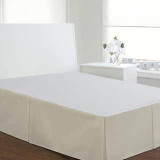 Fresh Ideas 14-inch Drop Poplin Bedskirt|https://ak1.ostkcdn.com/images/products/3418195/P11498720.jpg?impolicy=medium