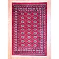 Herat Oriental Pakistan Hand-knotted Bokhara Wool Rug (4' x 6')