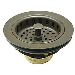 Dark Bronze Kitchen Sink Strainer