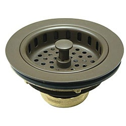 dark bronze kitchen sink strainer - Kitchen Sink Strainer