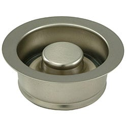 Garbage Disposal Satin Nickel Flange with Stopper