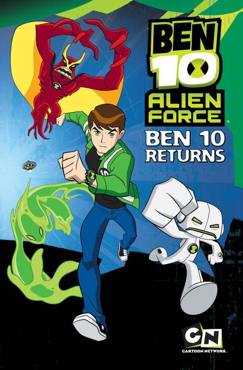 Ben 10 Alien Force 1: Ben 10 Returns (Paperback)