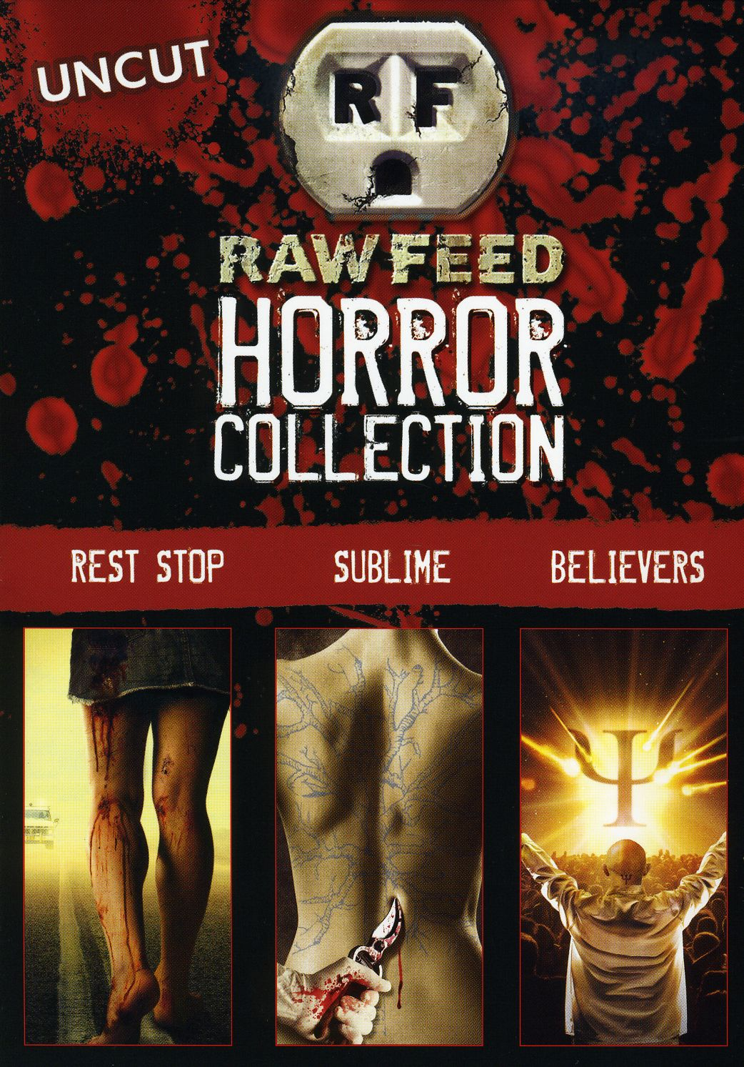 Raw Feed Horror Collection (DVD)