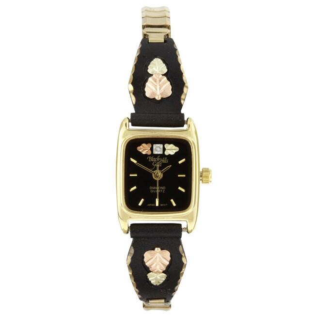 Black Hills Gold Black Powdercoat Watch