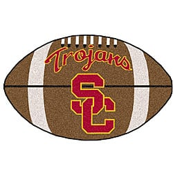 Fanmats NCAA University of Southern California Football Rug|https://ak1.ostkcdn.com/images/products/3427497/3/University-of-Southern-California-Football-Rug-P11506866.jpg?impolicy=medium