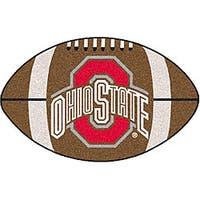Fanmats NCAA Ohio State University Football Mat