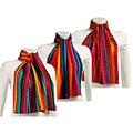 Worldstock Traditional Multicolor Handwoven Scarf (Guatemala)