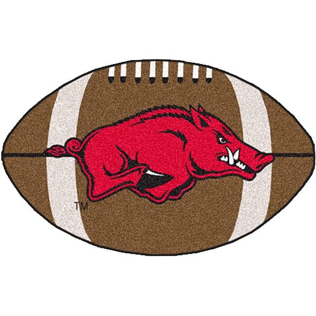 FOOTBALL FANATICS Fanmats Ncaa University of Arkansas Foo...