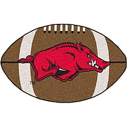 Fanmats NCAA University of Arkansas Football Mat