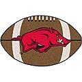 Fanmats NCAA University of Arkansas Football Mat
