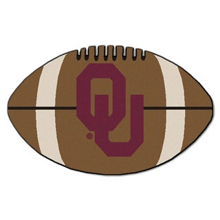 Fanmats NCAA University of Oklahoma Football Mat