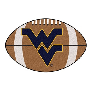 Fanmats NCAA West Virginia University Football Area Rug