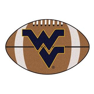 Fanmats NCAA West Virginia University Football Area Rug