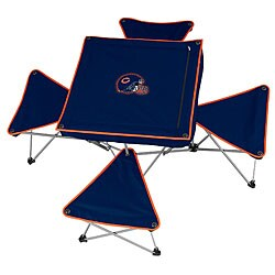 North Pole Chicago Bears Folding Table and Stool Set