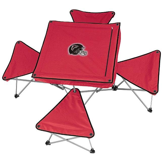 Northpole Atlanta Falcons Folding Table and Stool Set (At...