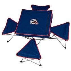 New England Patriots Folding Table and Stool Set - Thumbnail 0
