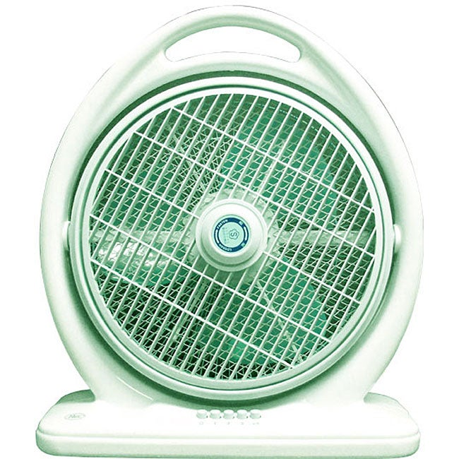 Portable green 3 speed 14 inch box fan free shipping for 16 inch window box fan