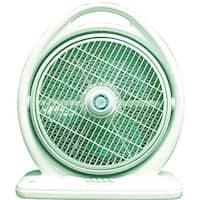 Portable Green 3-speed 14-inch Box Fan