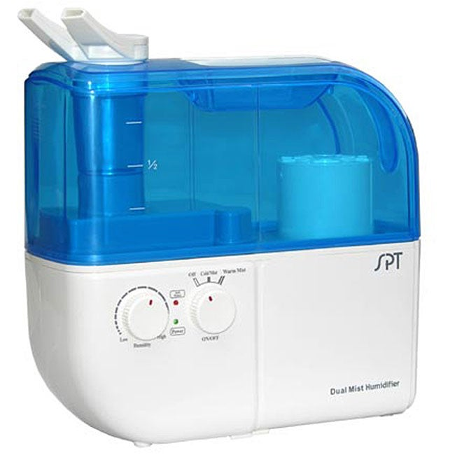 Sunpentown Dual Mist (Blue) Humidifier with ION Exchanger...