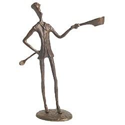 Cook Cast Bronze Sculpture