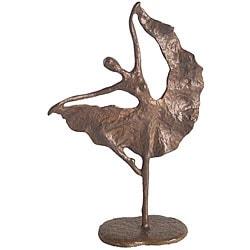 Folkloric Dancer Cast Bronze Sculpture