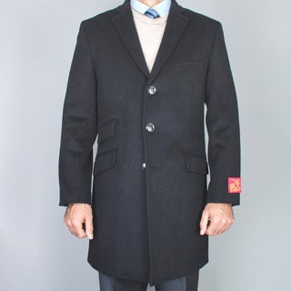 Men's Wool and Cashmere Car Coat