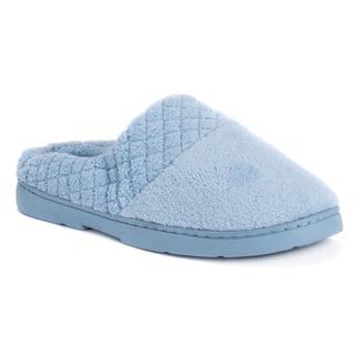 Soft Ones Women's Micro Chenille Memory Foam Clog Slippers
