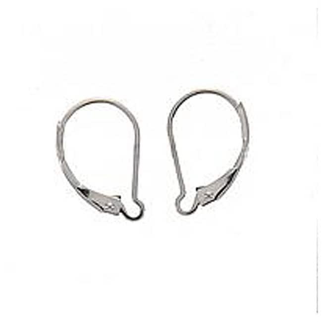 Beadaholique Sterling Silver Interchangeable Leverback Earrings