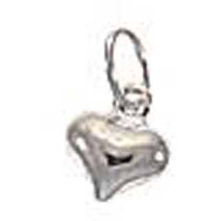 Beadaholique Sterling Silver 5.5-mm Sleek Puff Heart Charm