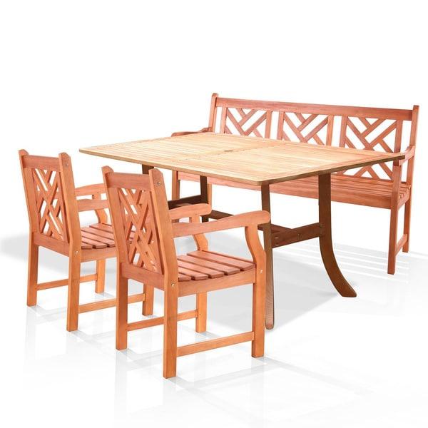 Atlantic 4-piece Dining Set