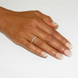14k White Gold 1/2ct TDW Diamond Band Ring (H-I, I1)