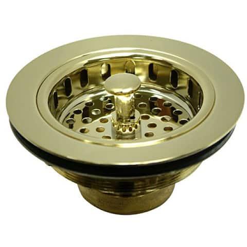 Kitchen Sink Brass Basket Strainer