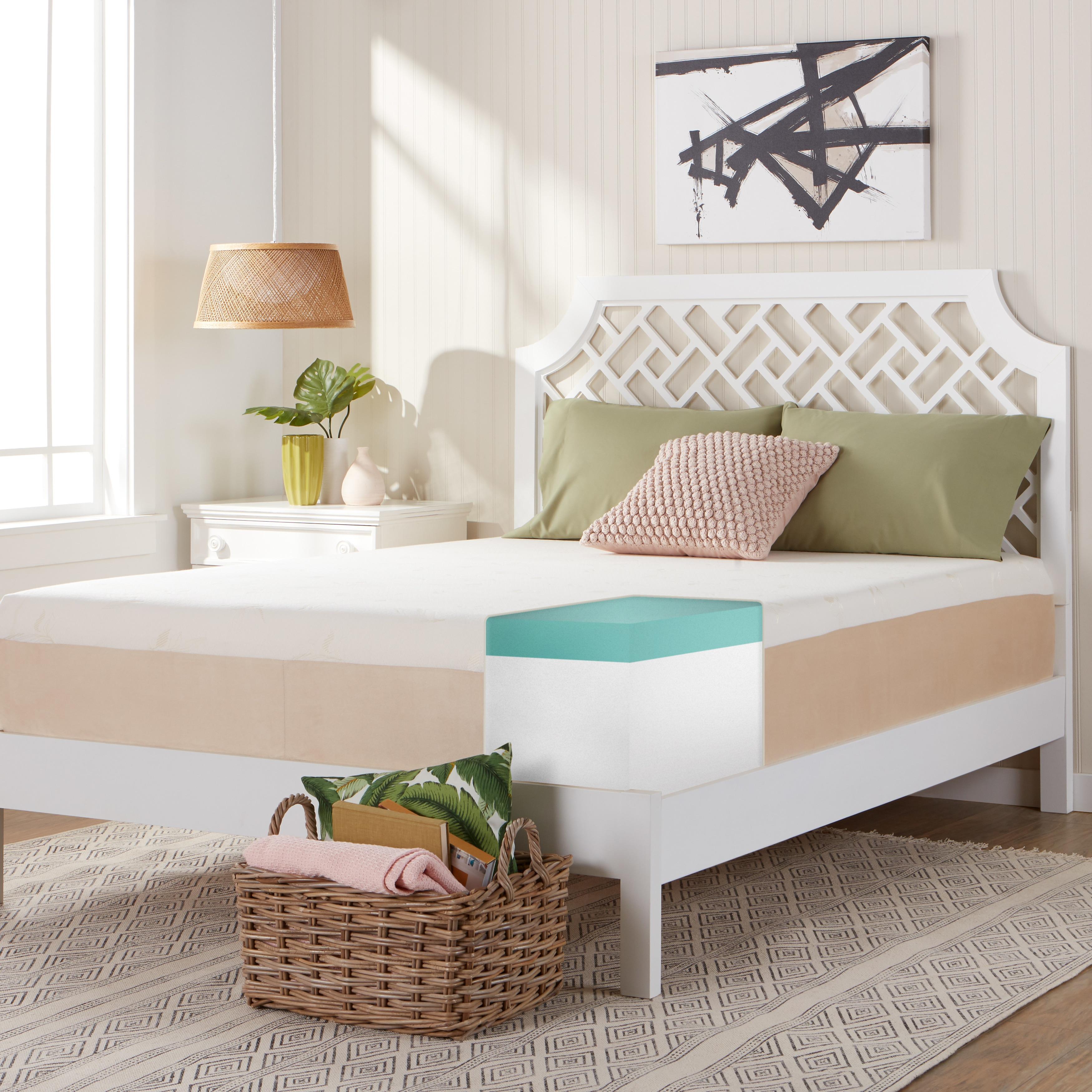 Comfort Dreams Select-A-Firmness 14-inch Queen-size Memor...