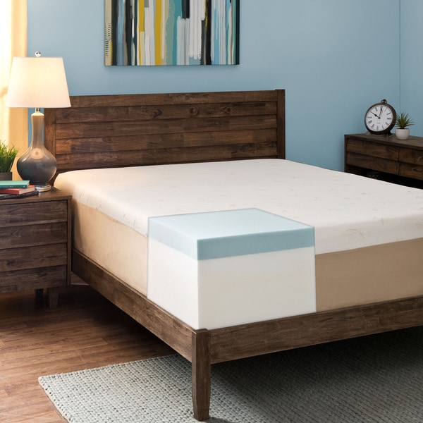 Comfort Dreams Select-A-Firmness 14-inch King-size Memory Foam Mattress