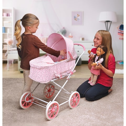 Badger Basket Just Like Mommy 3-in-1 Doll Pram/Carrier/Stroller