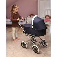 Badger Basket English Style 3-in-1 Doll Stroller
